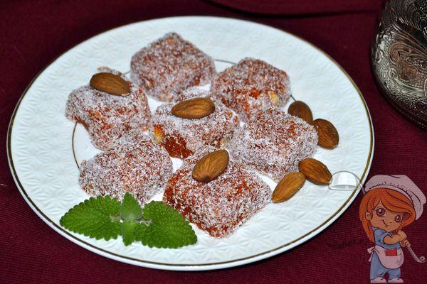Рецепт турецкой сладости джезерье