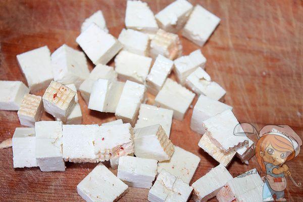тофу кубиками