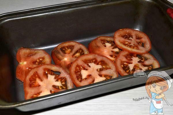 Выкладываем помидоры в форму