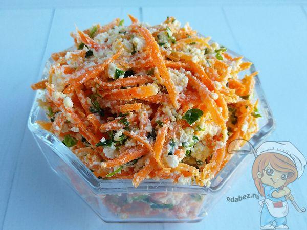 выкладываем диетический салат в салатник