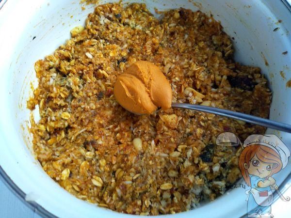 Добавляем арахисовую пасту