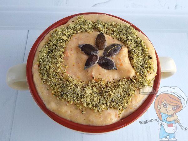 Украшаем смузи семенами тыквы