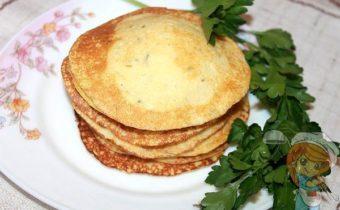 блинчики из рисовой муки - рецепт с фото