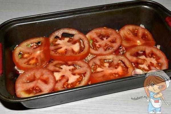 Снова слой помидоров