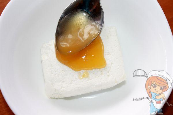 Соединяем творог и мед