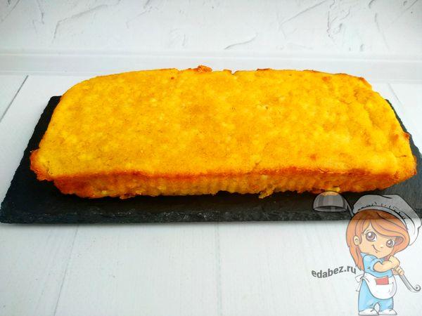 творожный пирог с апельсиновым вкусом