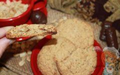 Овсяное печенье с арахисом - рецепт с фото