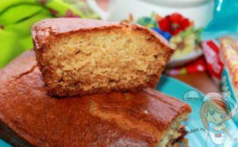 рисовый кекс без молока и без глютена - рецепт с фото