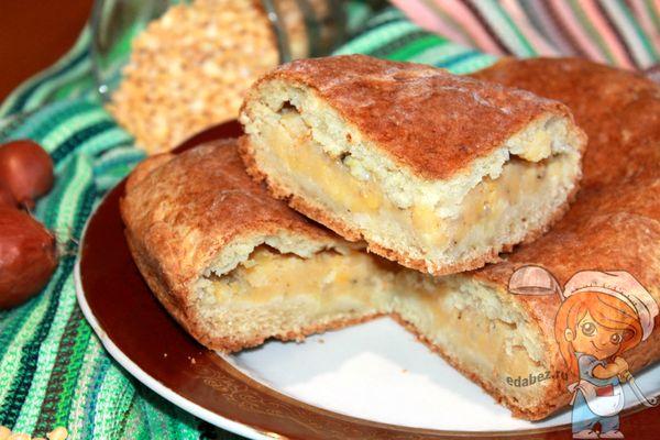 гороховый пирог - рецепт с фото
