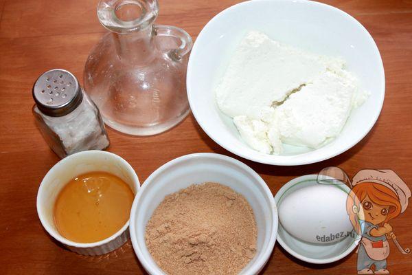 Продукты для безглютеновых сырников