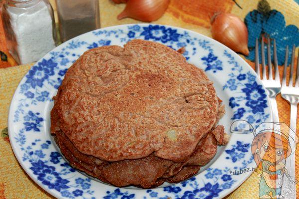 Блины из гречневой муки - рецепт с фото