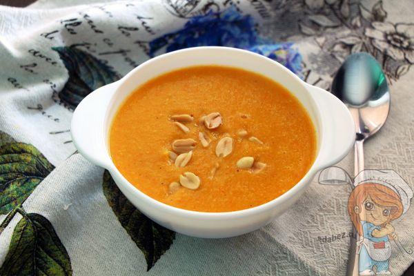 суп-пюре на кокосовом молоке
