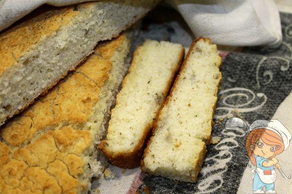 Домашний хлеб из рисовой муки