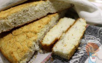 Хлеб из рисовой муки - рецепт с фото