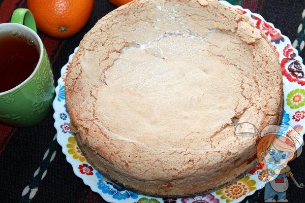апельсиновая шарлотка в духовке