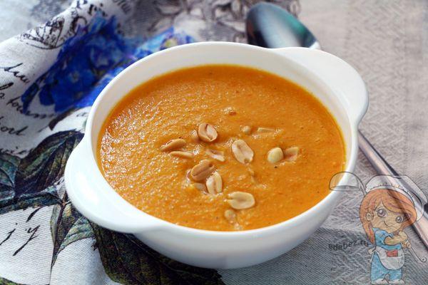 крем суп с кокосовым молоком