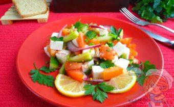 Весенний салат - рецепт с фото