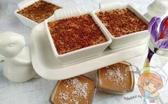 десерт из ряженки с желатином -
