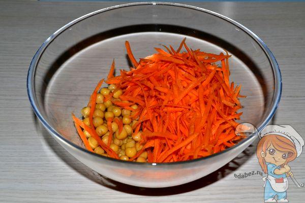 Соединяем морковь с нутом