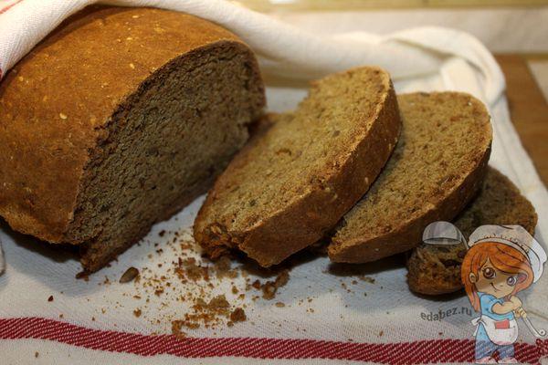 овсяный хлеб - рецепт с фото