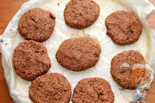 пп печенье из гречневой муки