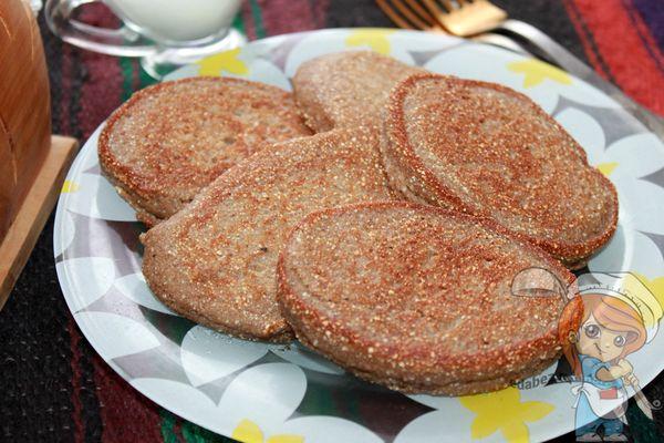 гречневые оладьи - рецепт с фото
