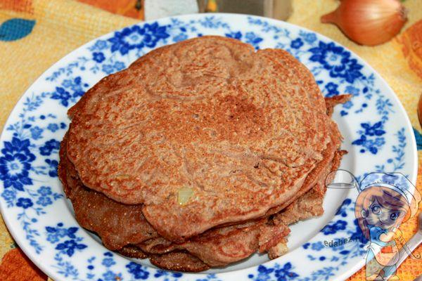 гречневые блины - рецепт с фото