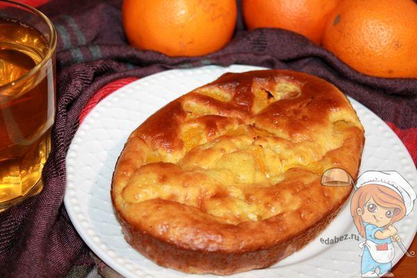 Морковно апельсиновый пирог рецепт с фото