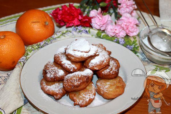 итальянские пончики - пошаговый рецепт с фото