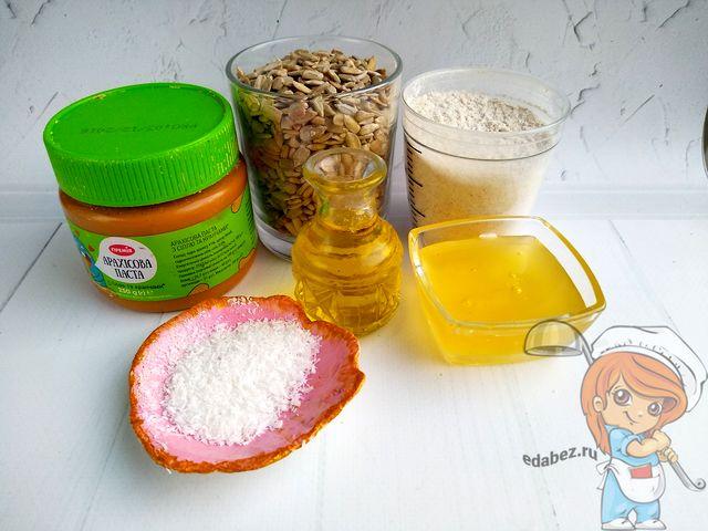 Ингредиенты для домашней халвы