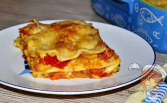 Овощная лазанья - рецепт с фото