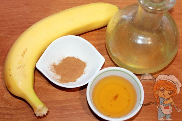 Продукты для запекания бананов