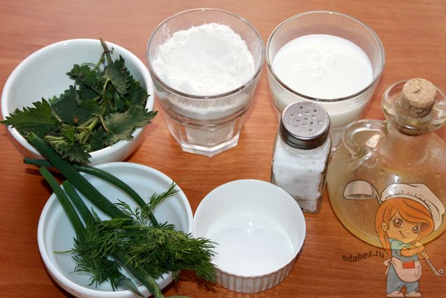 Продукты для выпечки оладьев