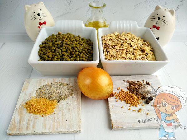 Продукты для котлет без мяса