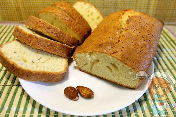 Миндальный пирог - рецепт с фото
