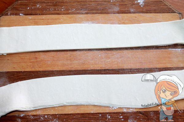 Режем пласт на полоски