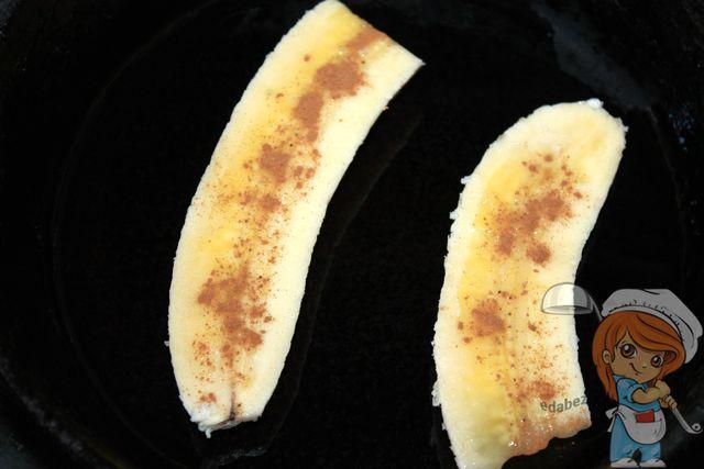 Жарим бананы