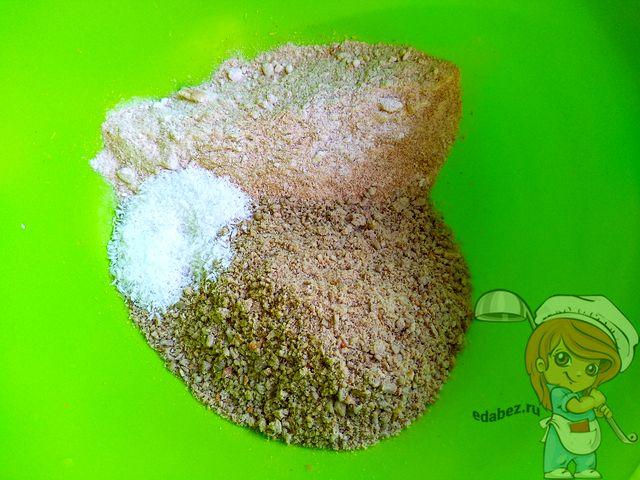 Добавляем кокосовую стружку