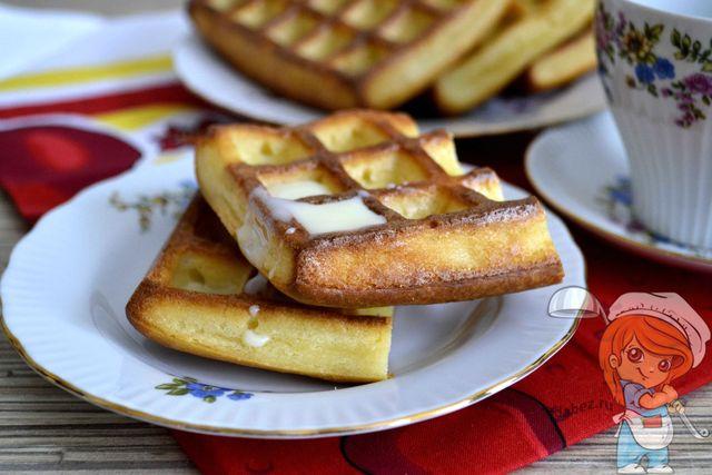Творожные вафли - рецепт с фото