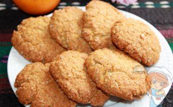 австралийское овсяное печенье Анзак