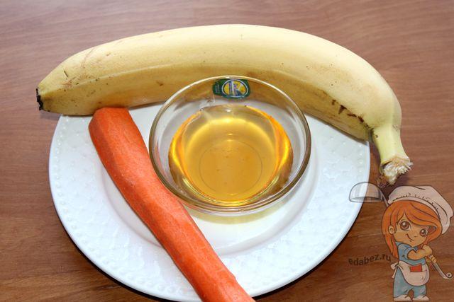 Продукты для салата из бананов