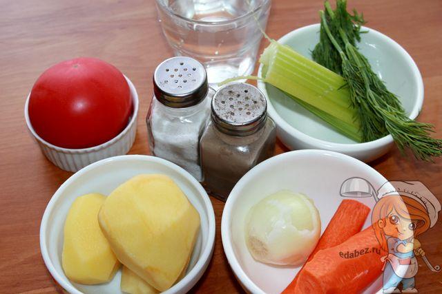 Суп из сельдерея: ингредиенты