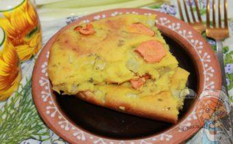 Овощной пирог с сельдереем