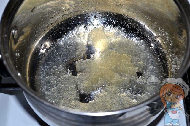 Нагреваем желатин