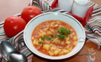 Айнтопф - немецкий суп. Пошаговый рецепт