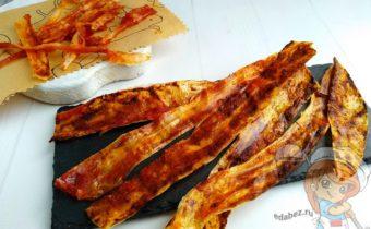 Вегетарианский бекон - рецепт с фото
