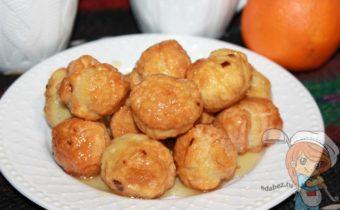 Десерт струффоли - рецепт с фото