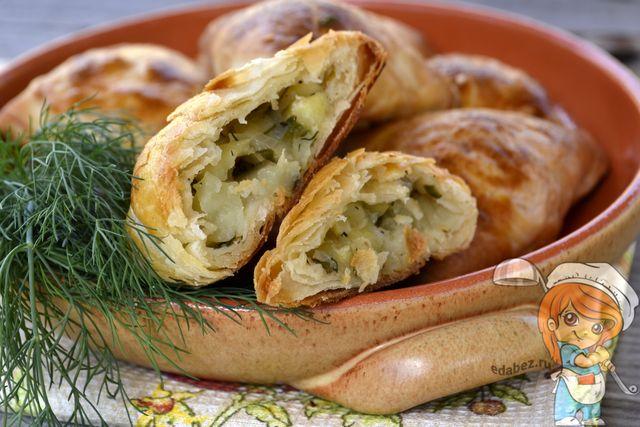 Узбекская самса с картошкой