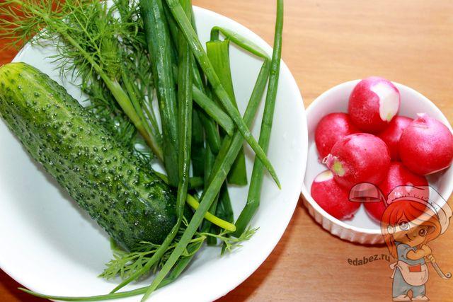 Моем овощи