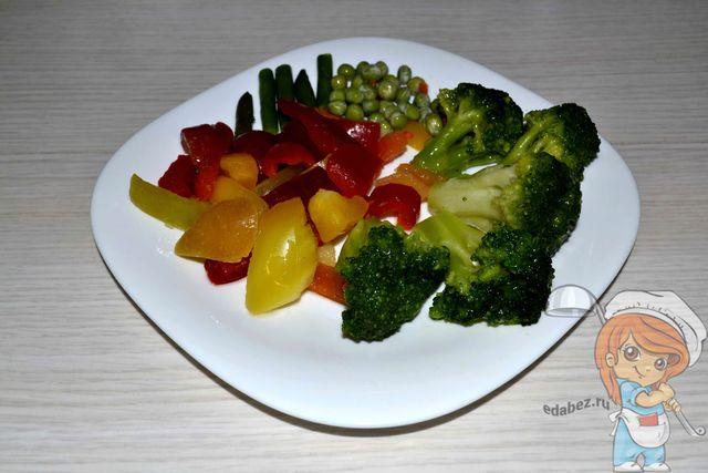 овощи для заливки